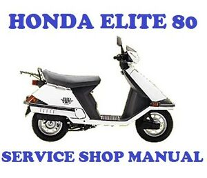 Manual For 85 Honda Elite 80 - powerfulangrypowerfulangry